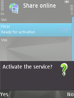 Activate Service