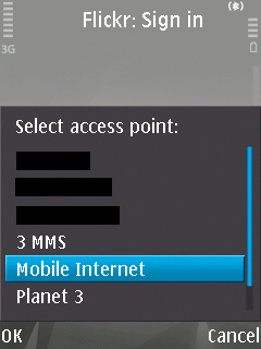 Select Access Point