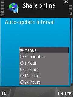 Update interval