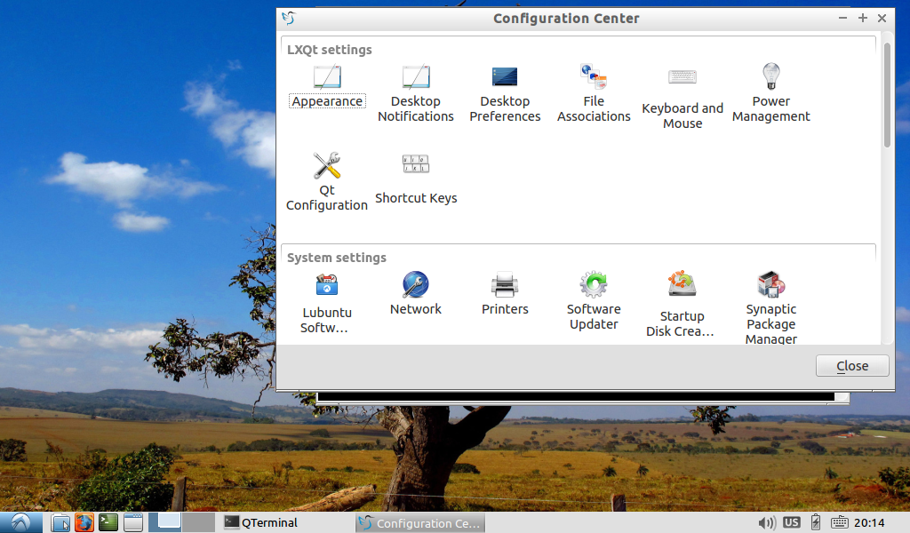 LXQT Screenshot