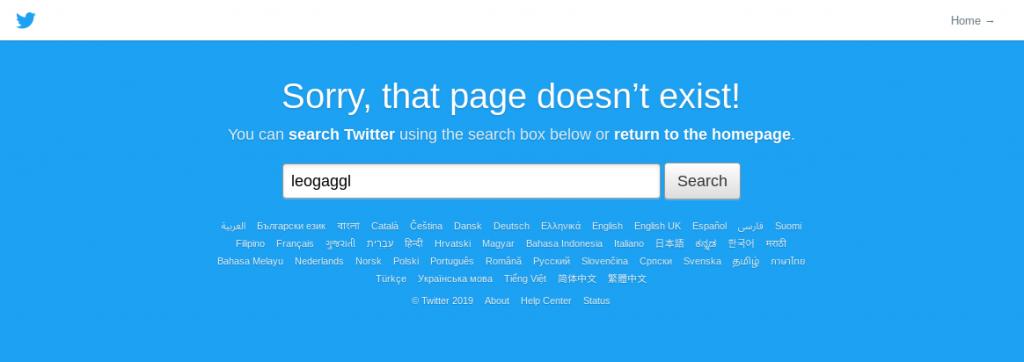 Godbye Twitter